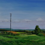 The Tower (Sold) En Plein Air 2014