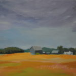 Farm Near Hockley (Sold)2014 En Plein Air