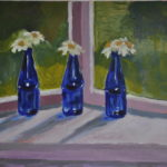 Blue Bottles (sold) 2014