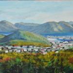 Newfoundland Harbour Town (private collection)
