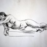 Life Drawing - nude -2019