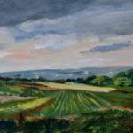 Toward Rosemont En Plein Air 2014 (private collection)