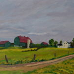Town Line Road 2014 En Plein Air (private collection)