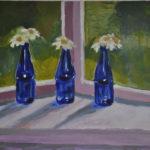 Blue Bottles (sold) 2014
