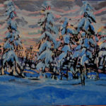 Winter Twilight 2016 (private collection)