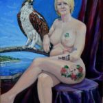 Grey County Allegory - Artemesia and the Osprey 2019