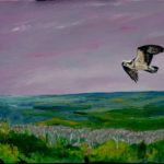 "Osprey Over The Beaver Valley 2019 24"" x 12"""
