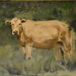 Cow Sketch acrylic, 2019