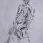 Life Drawing - nude 2020