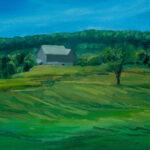 """North of Owen Sound, oil on canvas  16""""x20"""""""