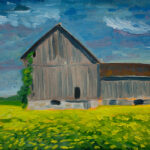 Painting_Plein_barn